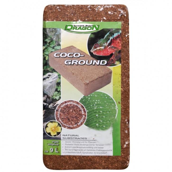 Dragon Kokossubstrat, Kokohum, Kokosfaser, Humusziegel, Körnung fein