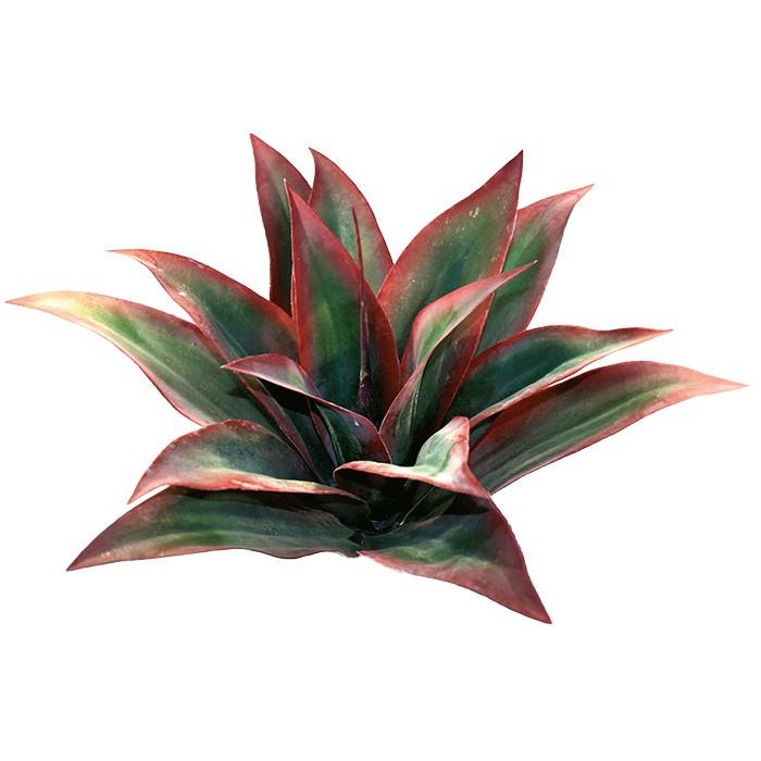 Terrarium Kunstpflanze Agave rot Large, 45 cm