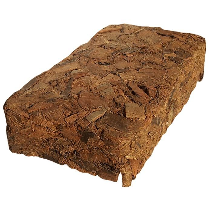 Kokossubstrat, Kokohum, Kokosfaser, Humusziegel, Körnung grob