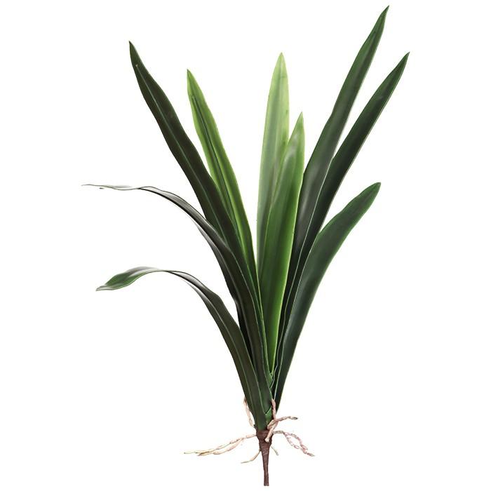 Terrarium Kunstpflanze Cymbidiumlaub ca. 40 cm, 5 Blatt