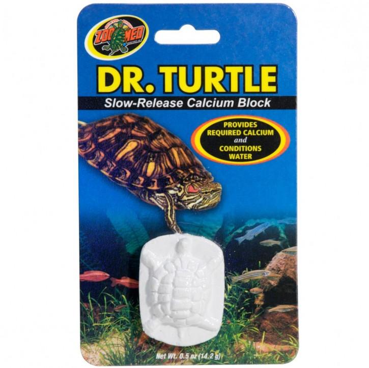 Dr. Turtle Slow-Release Calcium Kalziumblock für Wasserschildkröten 14g