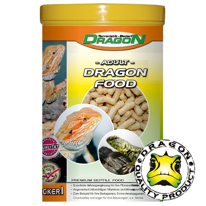 Dragon Trockenfutter für junge und ausgewachsene Bartagamen u.a. Herbivore