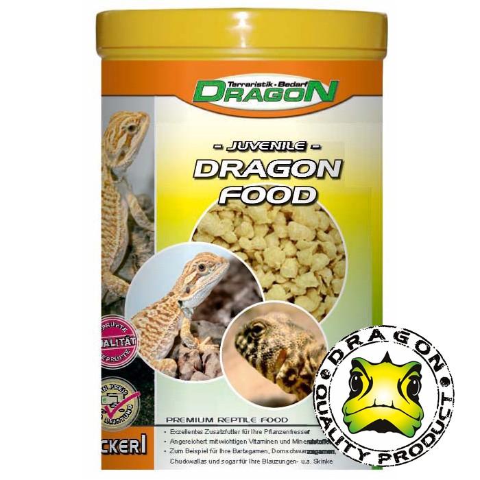 Dragon Trockenfutter für junge Bartagamen u.a. Herbivore 100g