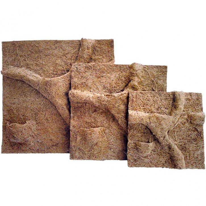 Dragon Terrarium Natur Kokosfaser Rückwand mit Pflanztaschen in 3 versch. Größen