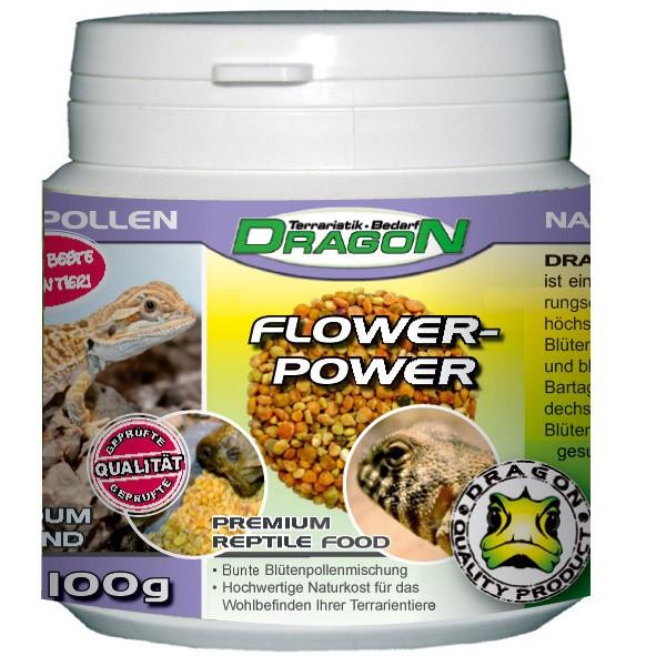 Flower-Power Food 100g Dragon Naturbelassene  Blütenpollen
