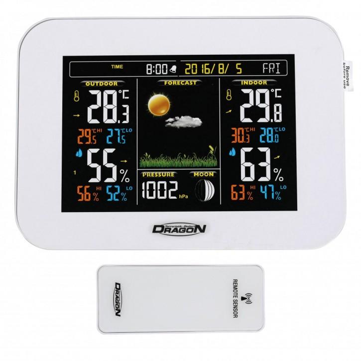 Digitale Funk-Klimastation mit Funksender für Terrarium Thermo-Hygrometer