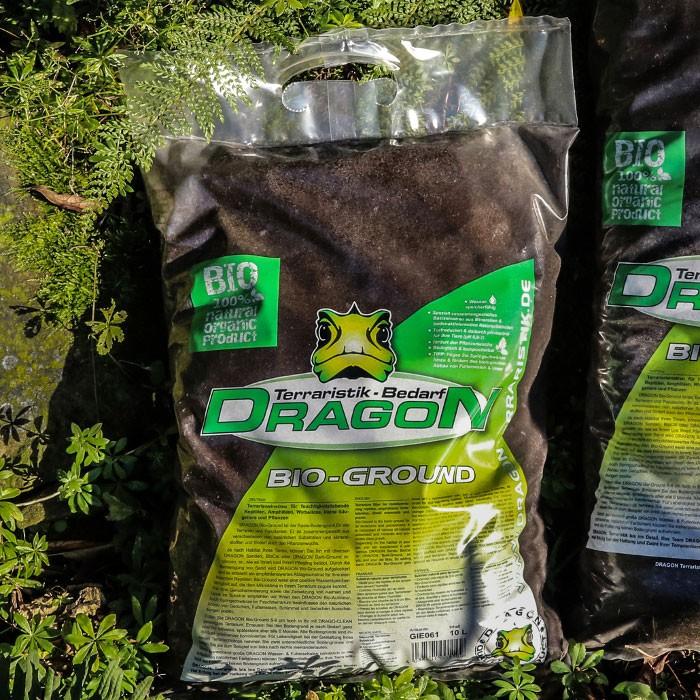 Dragon Terrarienerde BIO GROUND Terrarien Bodengrund