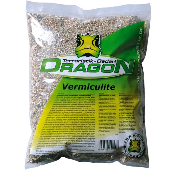 Dragon Vermiculite 4 l, Körnung 3-6 mm. Premium Brutsubstrat für Reptilien