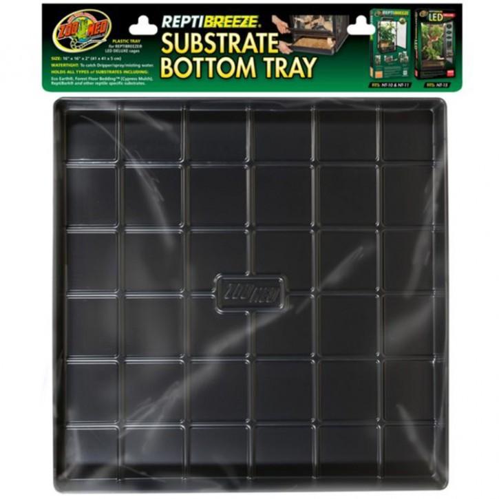Zoo Med ReptiBreeze Substrate Bottom Tray Bodenschalle in 4 Größen