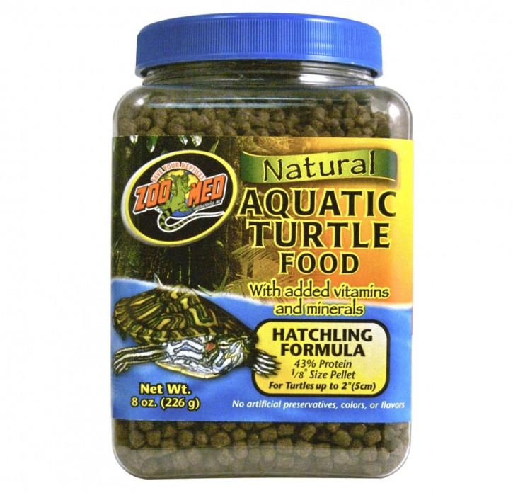 Natural Aquatic Turtle Food - Hatchling Futterpellets für junge Wasserschildkröten in 3 versch. Größen