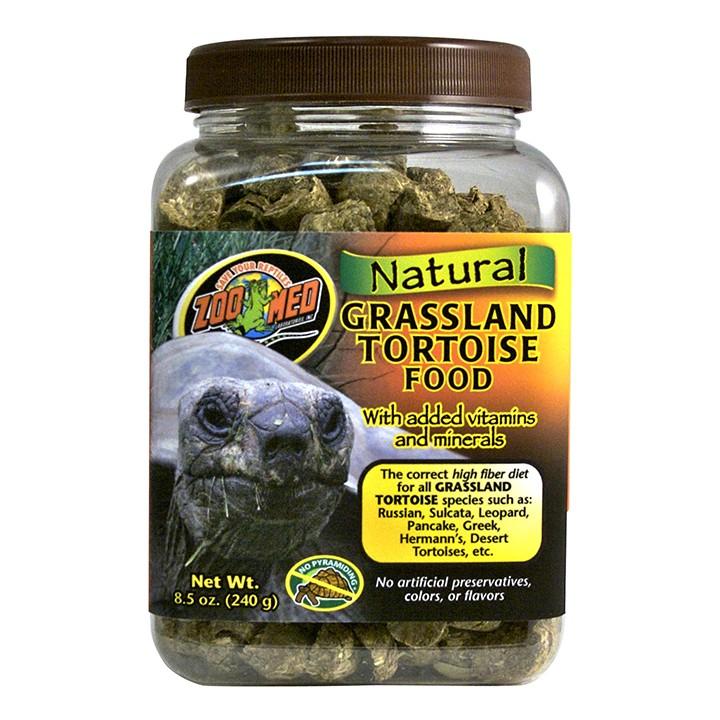 Natural Grassland Tortoise Food Futterpellets für Grasland Schildkröten in 3 versch. Größen