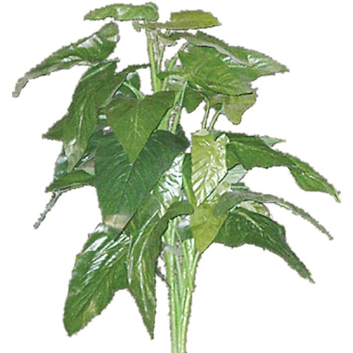 Terrarium Kunstpflanze Philodendron grün ca. 50-60 cm