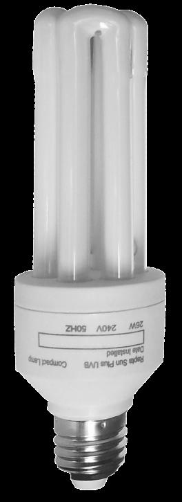 Rept Sun Plus 10.0 Energiesparlampe, 26 Watt, E27