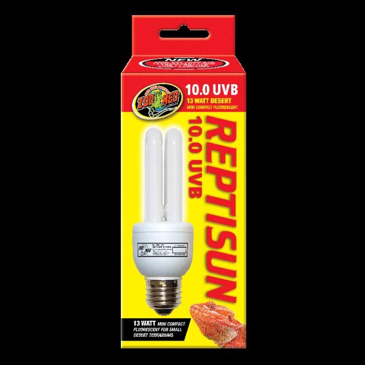 Zoo Med Repti Sun 10.0 Mini Compact, 13 Watt, UV Terrarienlampe