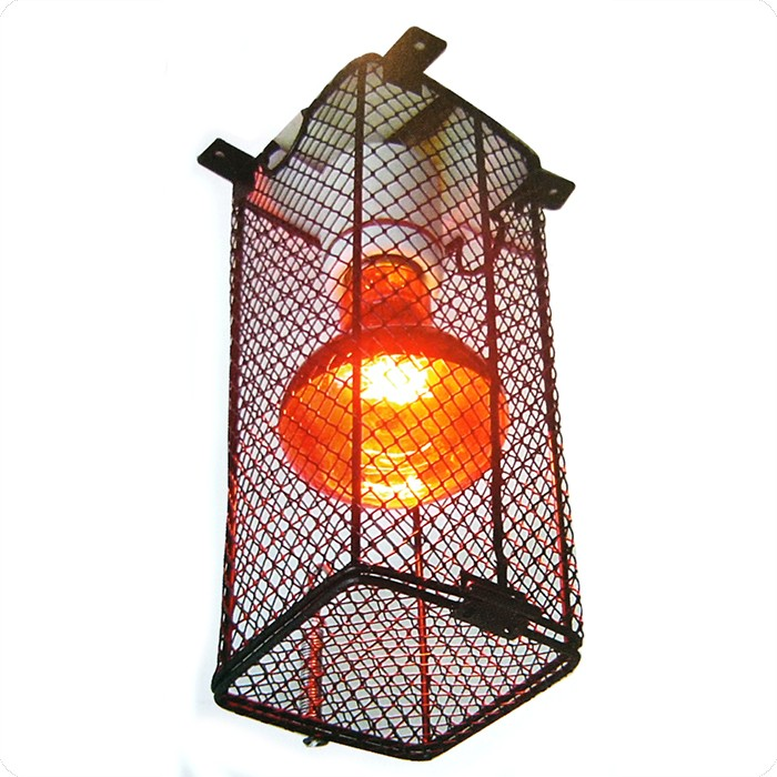 Schutzkorb für Terrarienlampe L: 90, B: 90, H: 220 mm