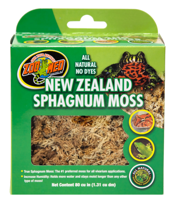 Zoo Med New Zealand Sphagnum Moss 1,31 L oder 150gr