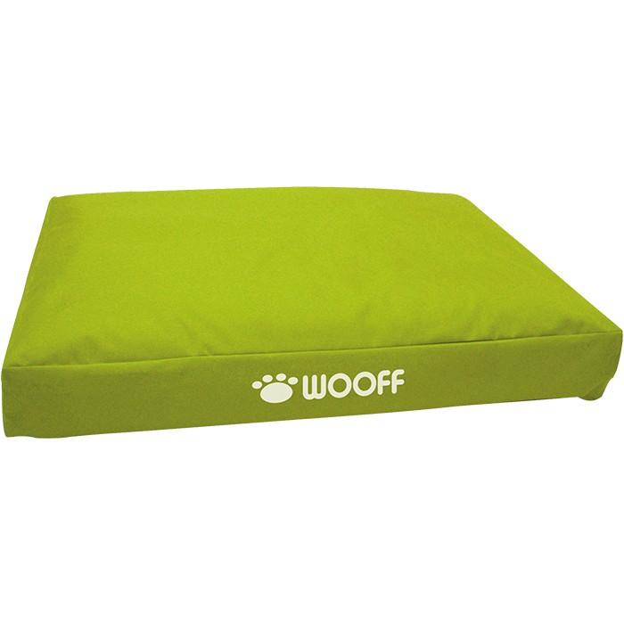 WOOFF allwetter Hundekissen, Green, 75 x 55 x 15 cm