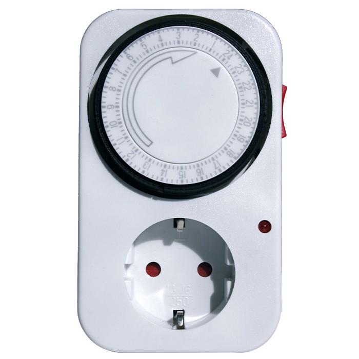 Zeitschaltuhr analog 30-min-Takt