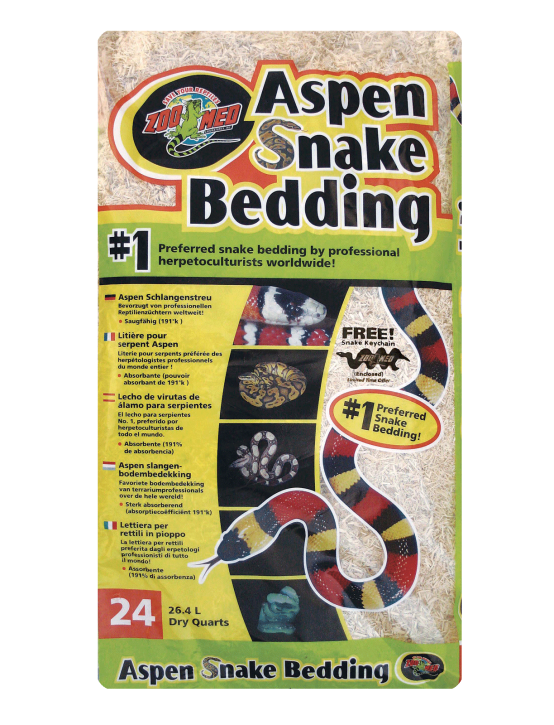 Zoo Med Aspen Snake Bedding Einstreu Terrarien Bodengrund