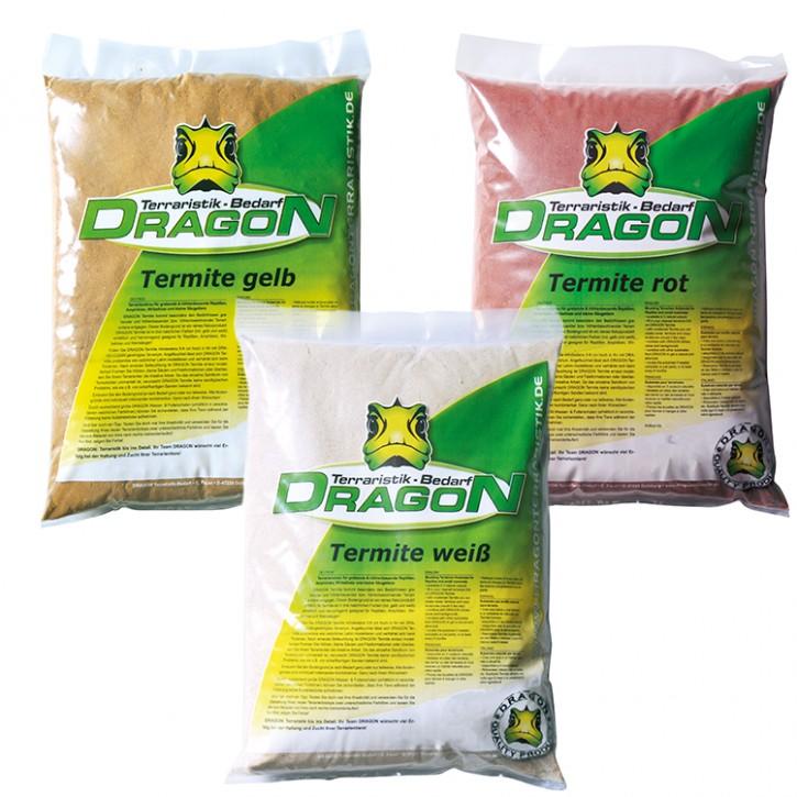 Dragon Termite grabfähiger modulierbar Sand, 3 versch. Farben