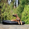 Hundekissen Luxor, Black, L, 110 x 70 x 15 cm