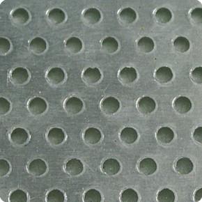 Aluminium Lochblechstreifen 3 x 100 cm