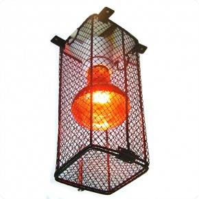 Schutzkorb für Terrarienlampen L: 90, B: 90, H: 220 mm