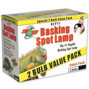 ZooMed Repti Basking Spot Lamp 100 Watt, Doppelpack