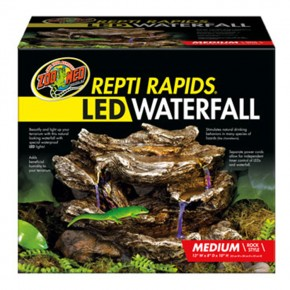 Zoo Med, Repti Rapids LED Waterfall Medium Rock
