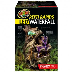 Zoo Med, Repti Rapids LED Waterfall Medium Wood