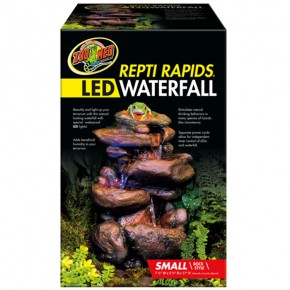 Zoo Med, Repti Rapids LED Waterfall Small Rock
